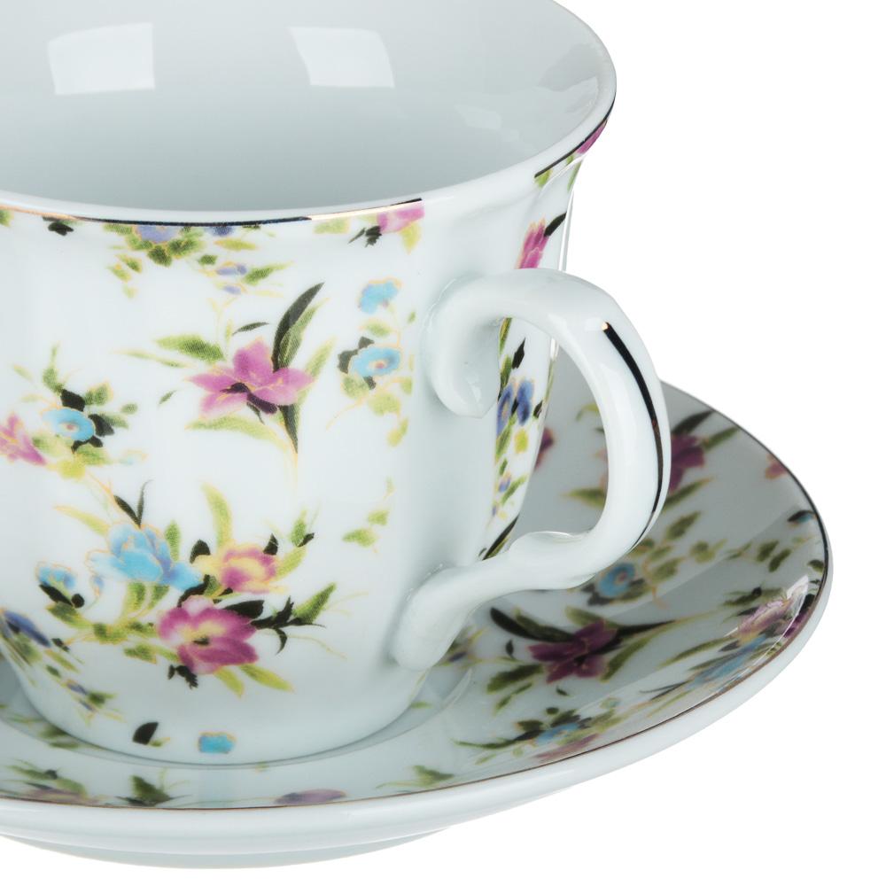 Весенний аромат Набор чайный 2 пр., 220мл, 14см, фарфор, 4 дизайна - 3