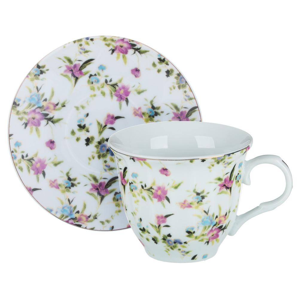 Весенний аромат Набор чайный 2 пр., 220мл, 14см, фарфор, 4 дизайна - 4