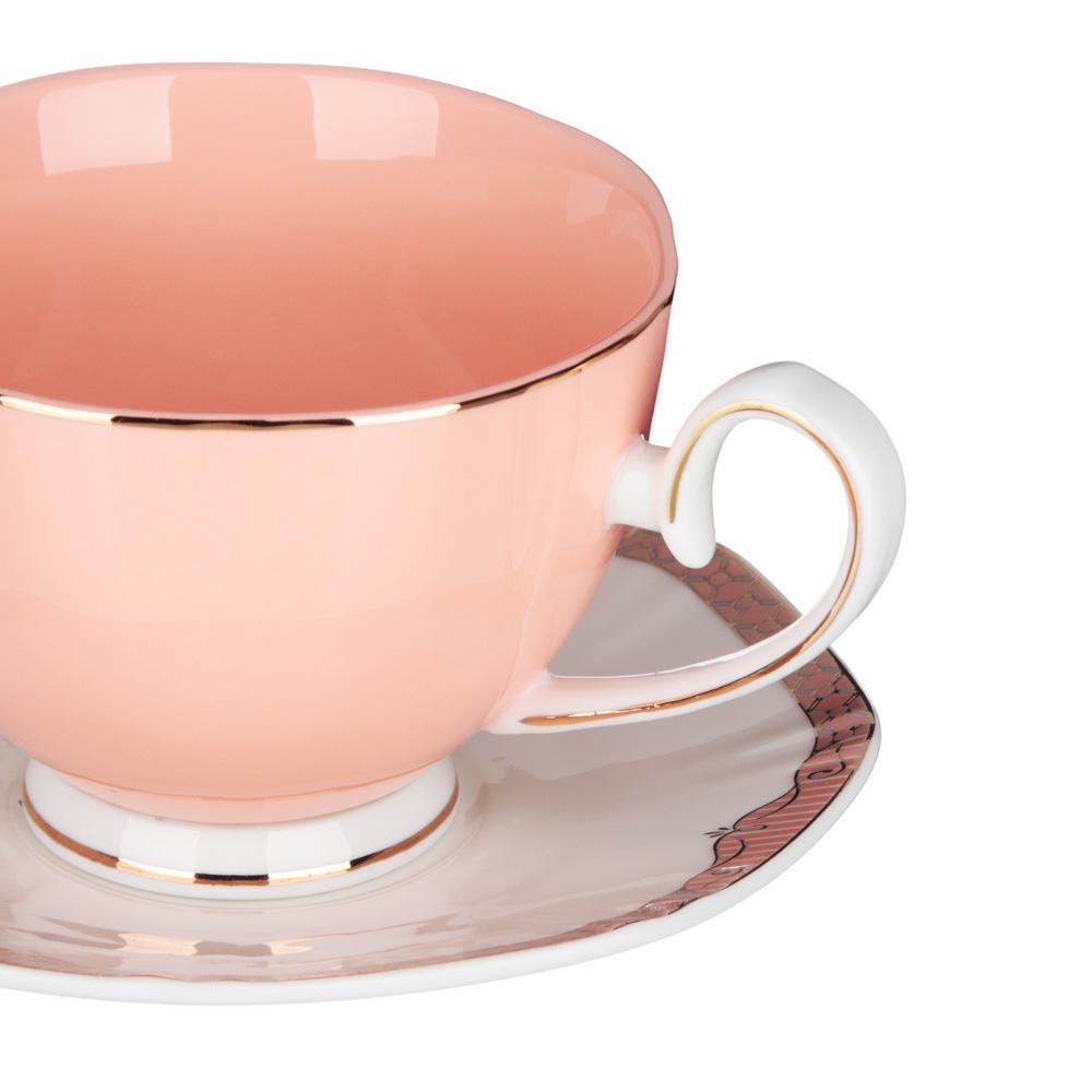 MILLIMI Мираж Набор чайный 12 пр., 260мл, 14см, костяной фарфор - 2