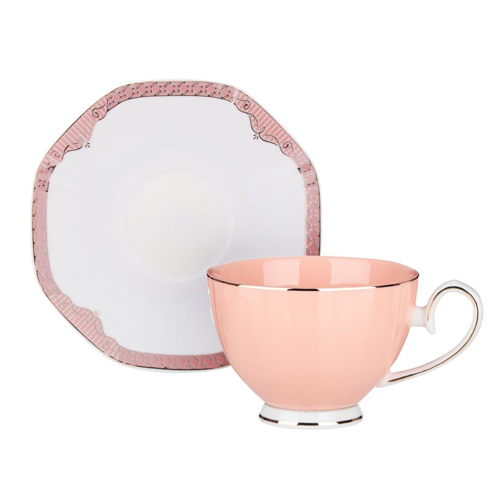 MILLIMI Мираж Набор чайный 12 пр., 260мл, 14см, костяной фарфор - 3