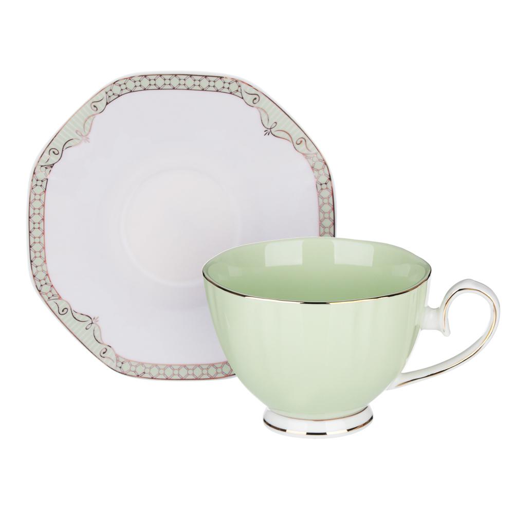MILLIMI Мираж Набор чайный 2 пр., 260мл, 14см, костяной фарфор, 4 цвета - 4