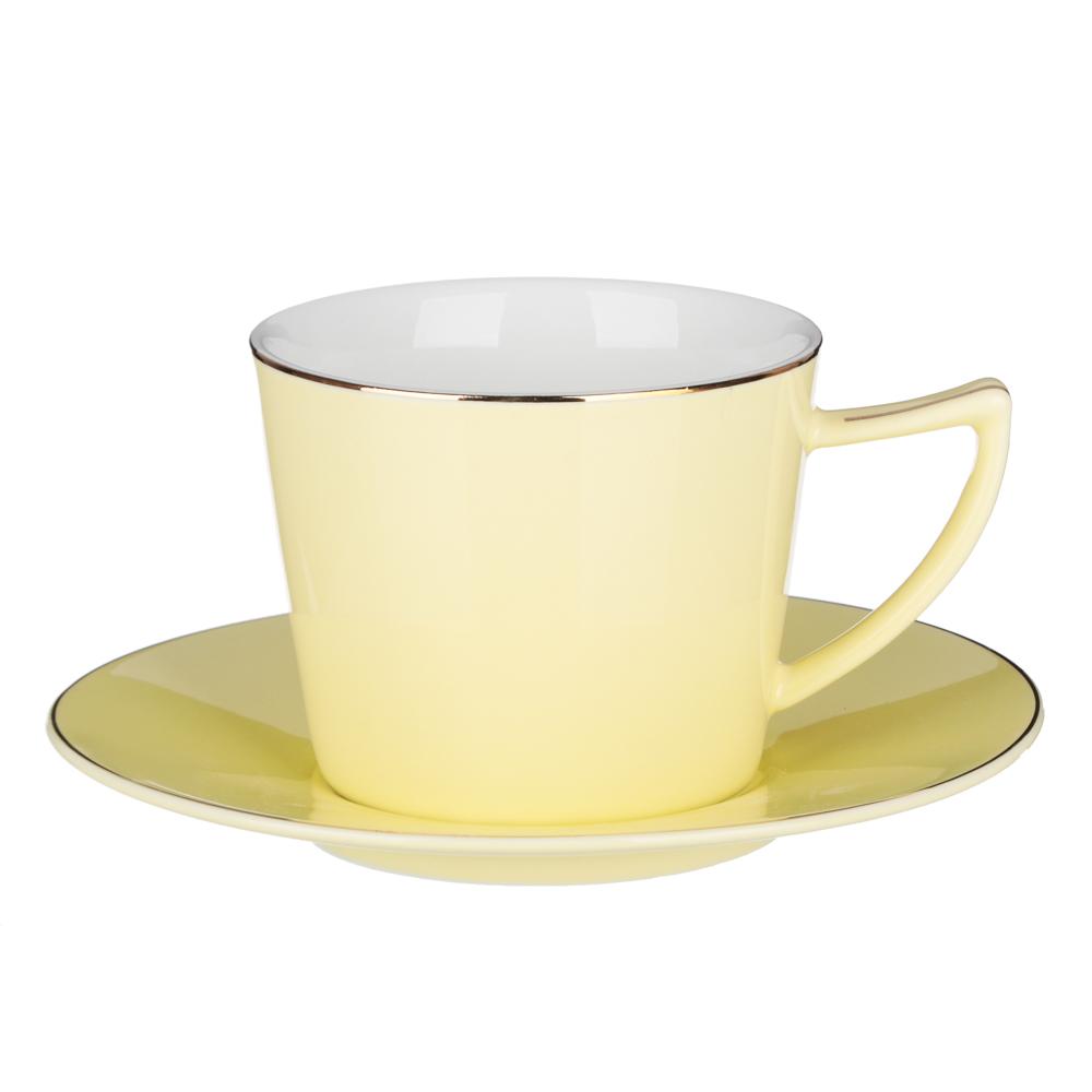 MILLIMI Радуга Набор чайный 2 пр., 250мл, 15см, костяной фарфор, 4 цвета - 2
