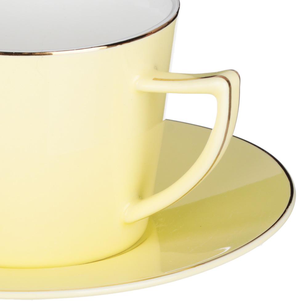 MILLIMI Радуга Набор чайный 2 пр., 250мл, 15см, костяной фарфор, 4 цвета - 3