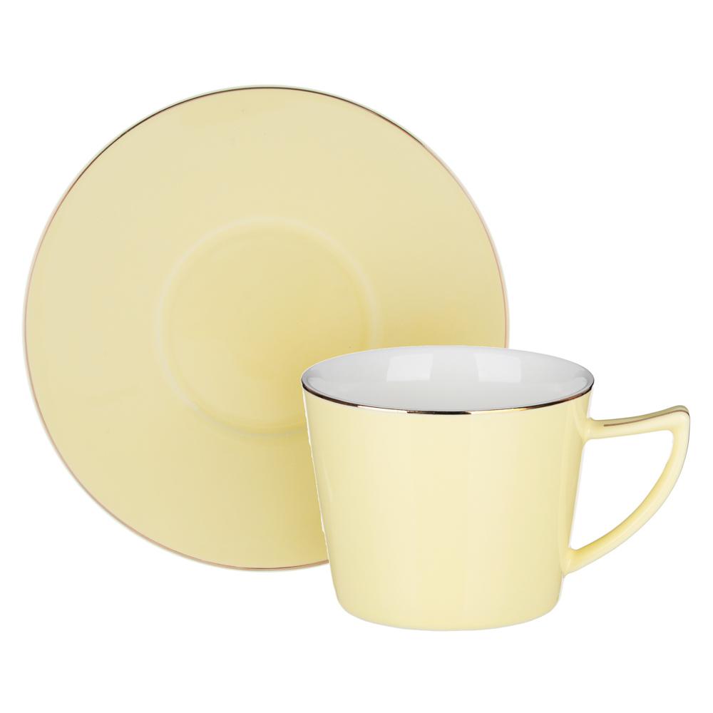 MILLIMI Радуга Набор чайный 2 пр., 250мл, 15см, костяной фарфор, 4 цвета - 4
