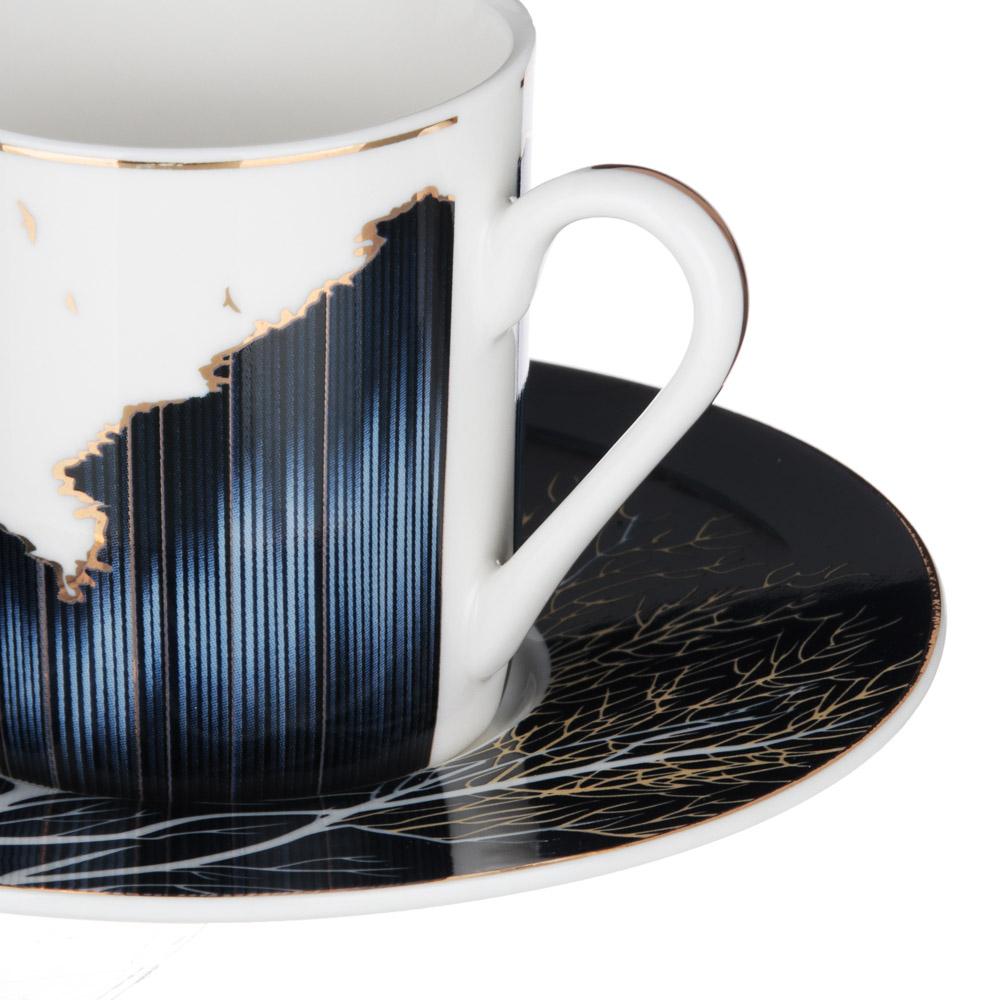 MILLIMI Триумф Набор кофейный 4пр., 100мл, 12,5см, костяной фарфор - 2
