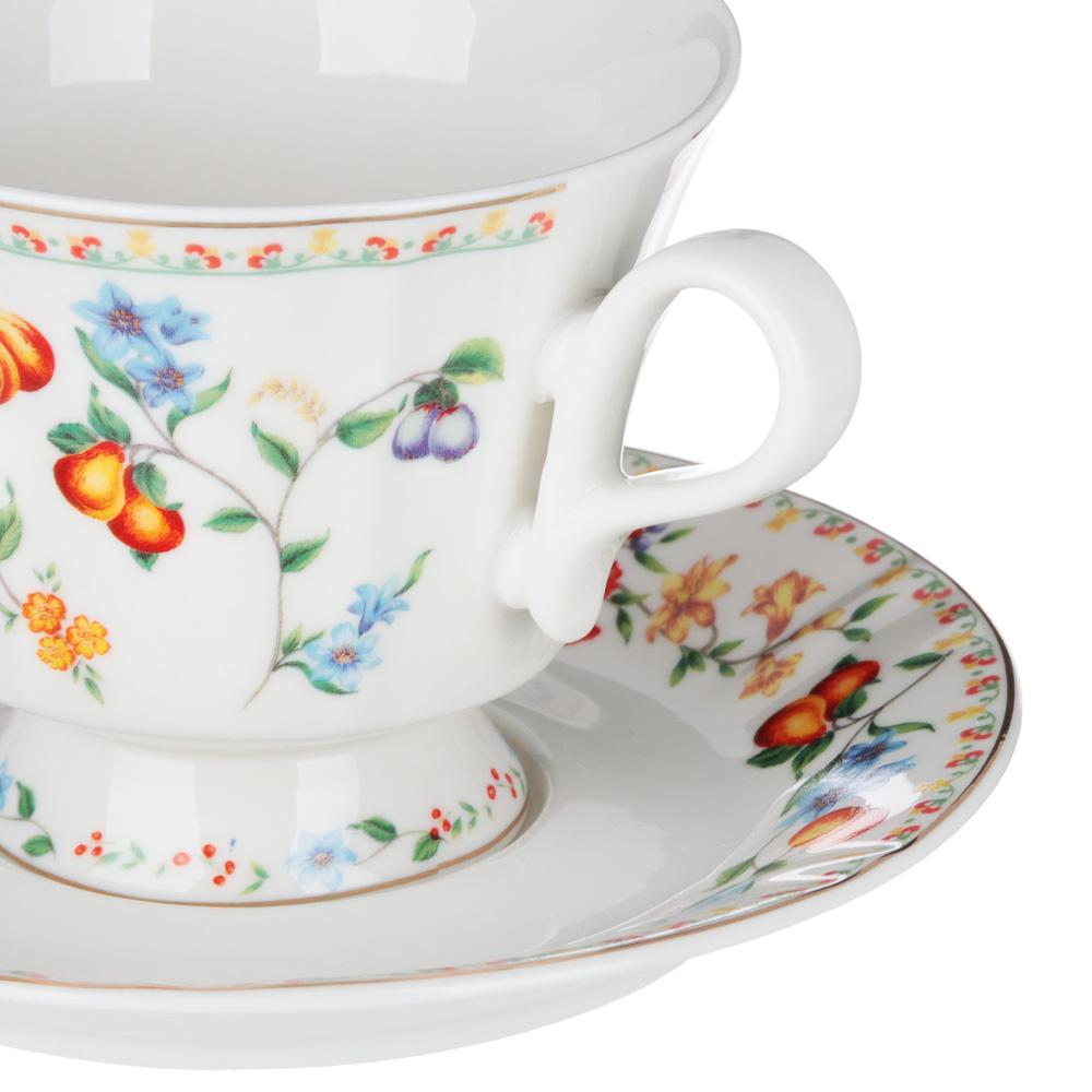 MILLIMI Розовая весна Набор чайный 2 пр., 220мл, 15см, костяной фарфор, 2 дизайна - 3