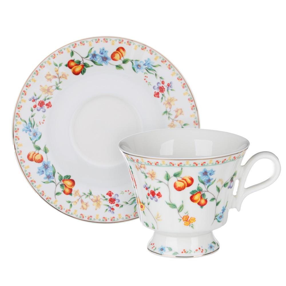 MILLIMI Розовая весна Набор чайный 2 пр., 220мл, 15см, костяной фарфор, 2 дизайна - 4