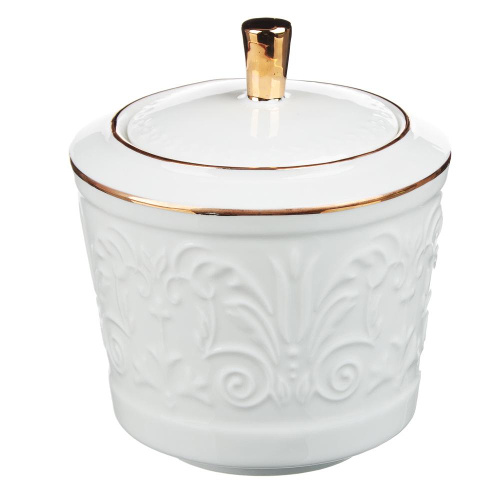 MILLIMI Да Винчи Набор чайный 14 пр., чашка 270мл, 15см, чайник 1050мл, сахарница 300мл, кост. фрф - 5