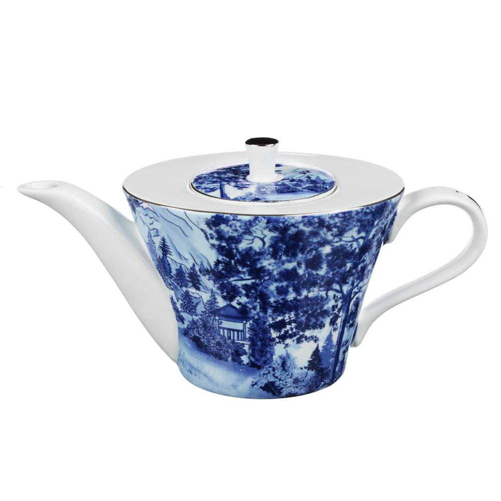 MILLIMI Дивный лес Набор чайный 14 пр., чашка 270мл, 16см, чайник 650мл, сахарница 230мл, кост. фрф - 4