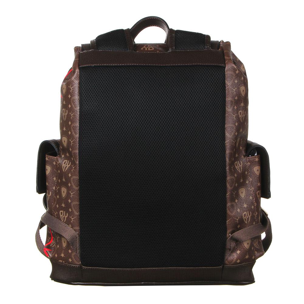 Рюкзак молодежный BY «Заря», 44х34,5х12,5 см, экокожа, 1 отделение, 2 кармана - 4