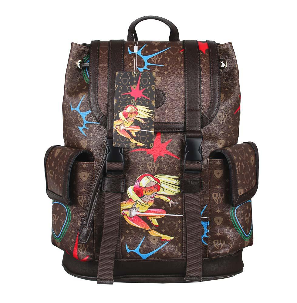 Рюкзак молодежный BY «Заря», 44х34,5х12,5 см, экокожа, 1 отделение, 2 кармана - 7