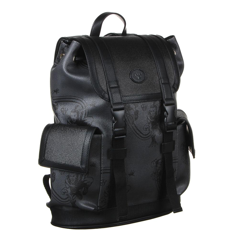 Рюкзак молодежный BY «Конек», 44х34,5х12,5 см, экокожа, 1 отделение, 2 кармана - 2