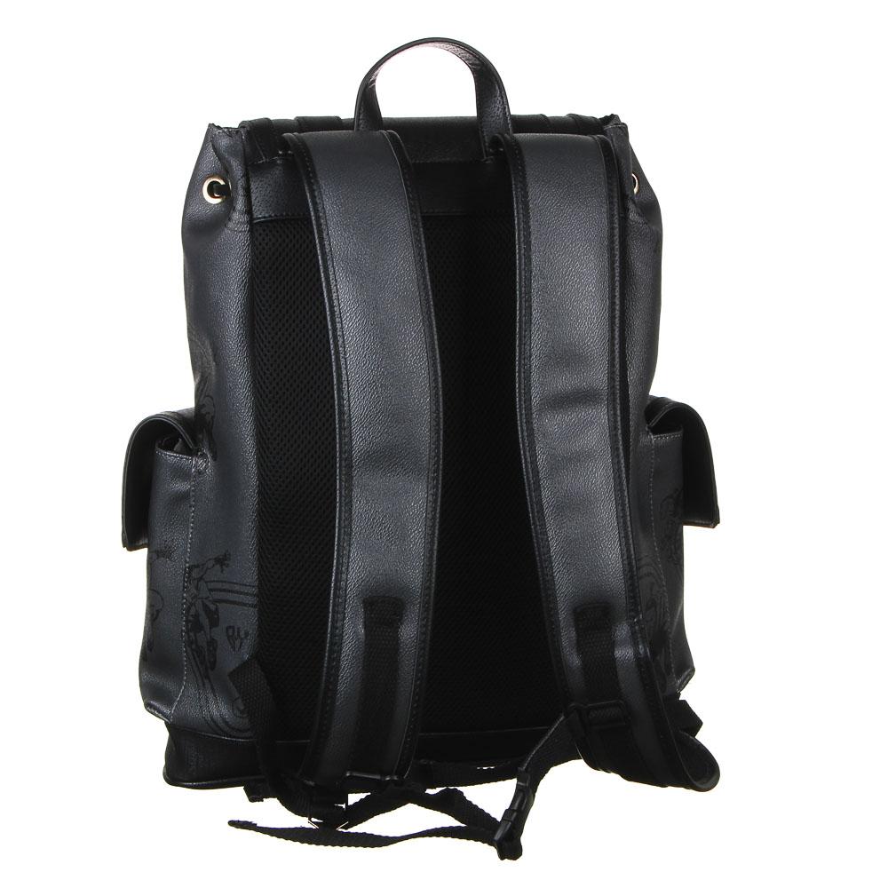 Рюкзак молодежный BY «Конек», 44х34,5х12,5 см, экокожа, 1 отделение, 2 кармана - 3