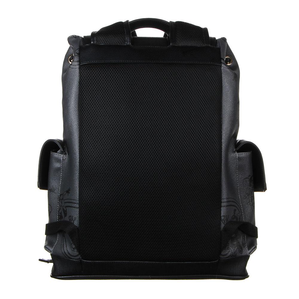 Рюкзак молодежный BY «Конек», 44х34,5х12,5 см, экокожа, 1 отделение, 2 кармана - 4