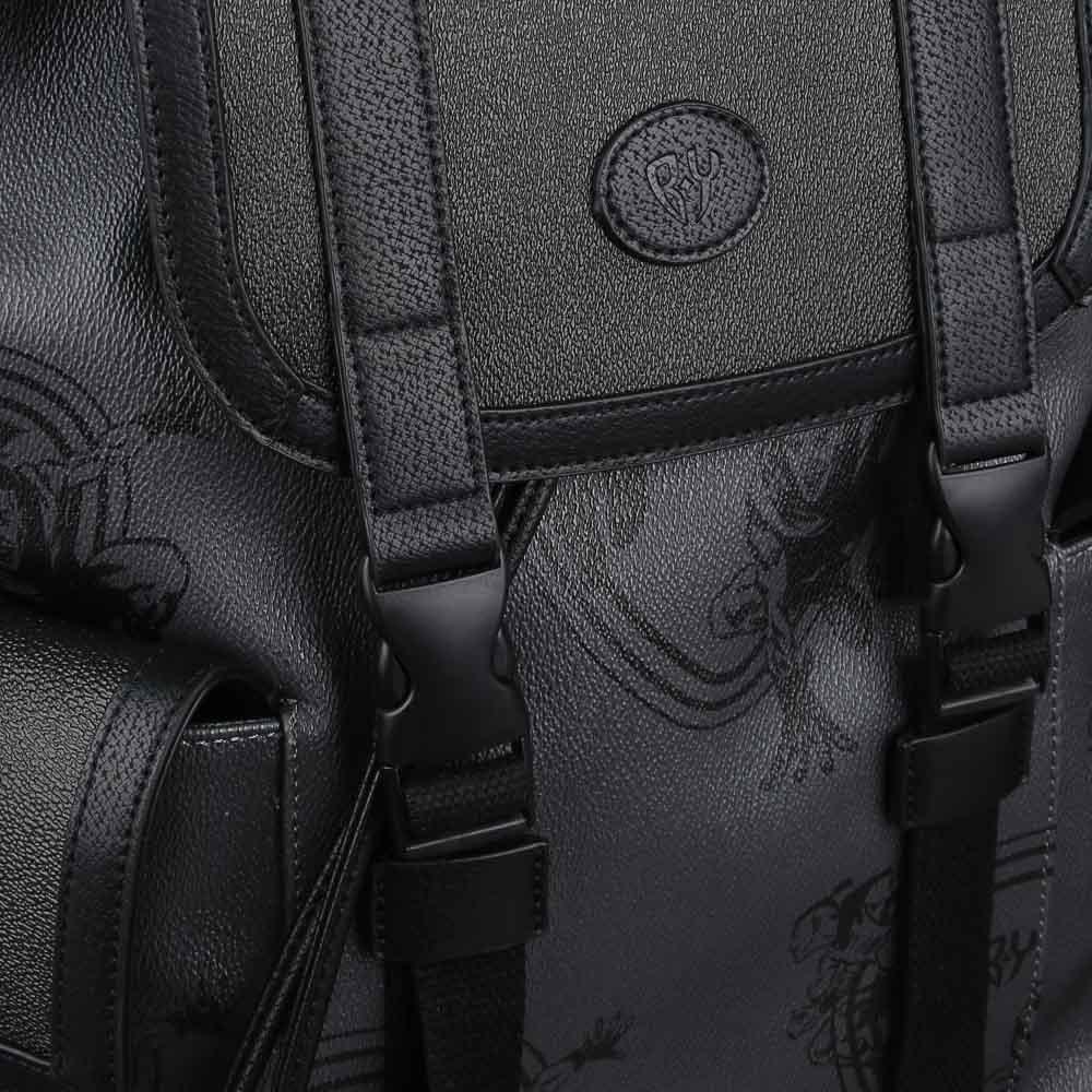 Рюкзак молодежный BY «Конек», 44х34,5х12,5 см, экокожа, 1 отделение, 2 кармана - 5