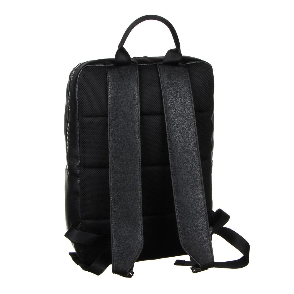 Рюкзак городской BY, 40х27х14 см, экокожа, 1 отделение, 1 карман - 3