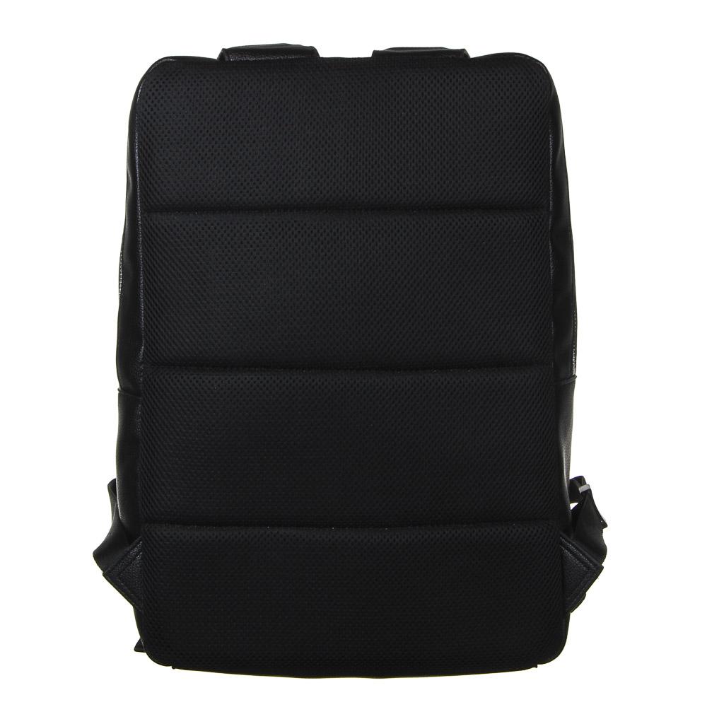 Рюкзак городской BY, 40х27х14 см, экокожа, 1 отделение, 1 карман - 4