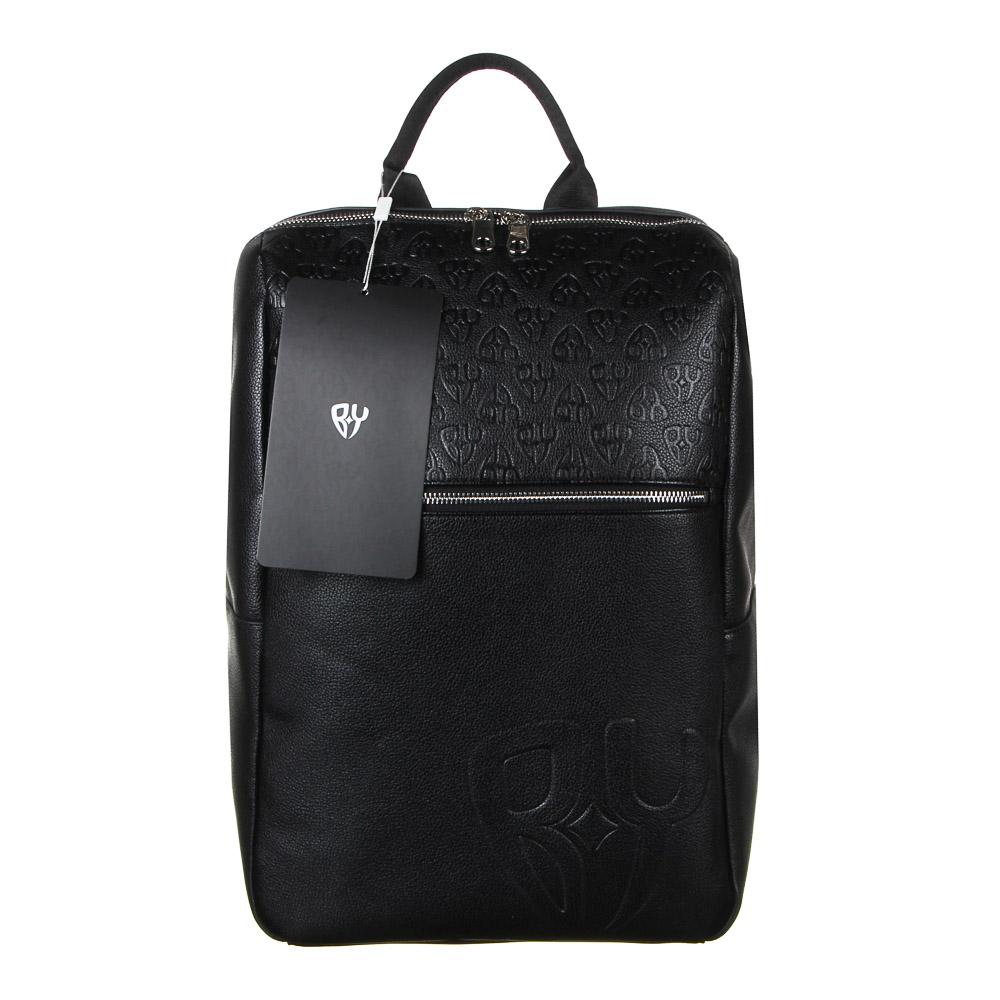 Рюкзак городской BY, 40х27х14 см, экокожа, 1 отделение, 1 карман - 6