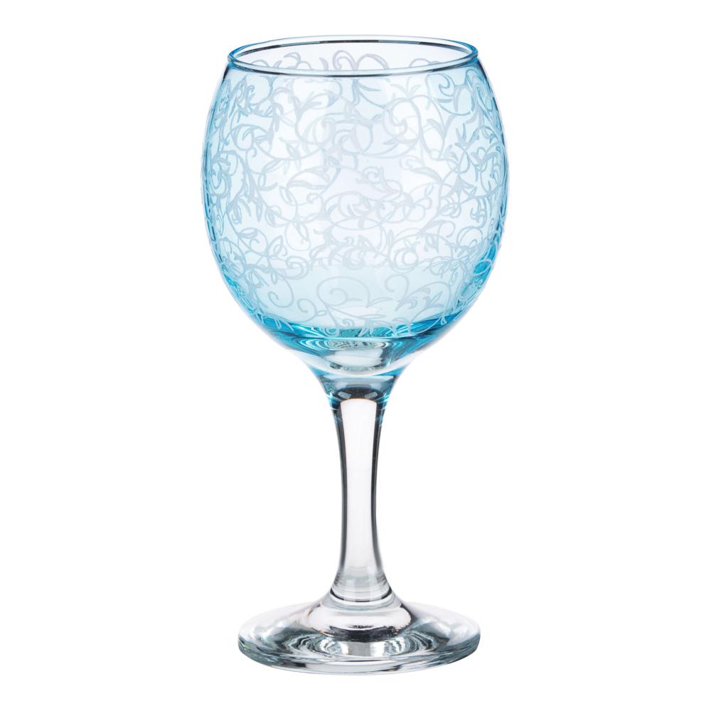 Набор бокалов 2шт для вина, 250 мл, с гравировкой, 4 цвета - 3