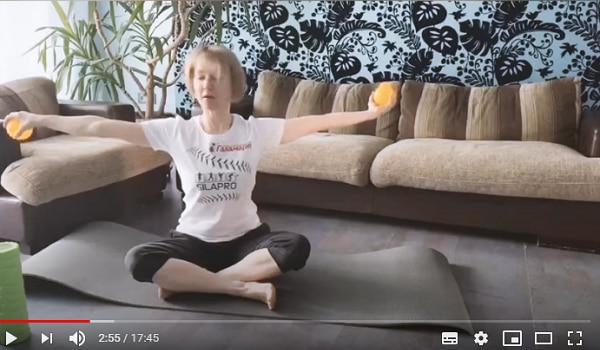 Комплекс упражнений для здоровой спины (скидка в видео)